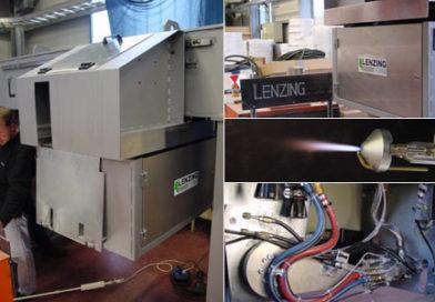 Pulver-Markier-Maschine für glühende Brammen | 2-Achsen NC-Positionier- und Bahnsteuerung