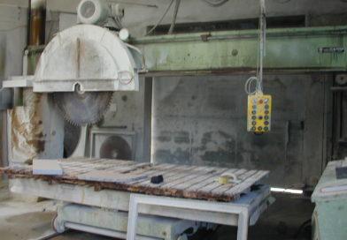 Umbau Steuerung | Steinsäge für 500mm Schnitttiefe | Automatisierungsanlage für Steinmetz