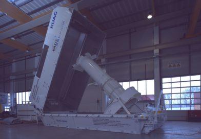 Multi – Purpose Transport Container für Satelliten