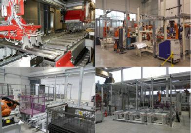Produktionsanlagen für Automobil-Zulieferer | Bearbeitungsmaschinen / Fördertechnik / Handlingsysteme